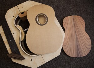 Pau Ferro Concert Ukulele construction
