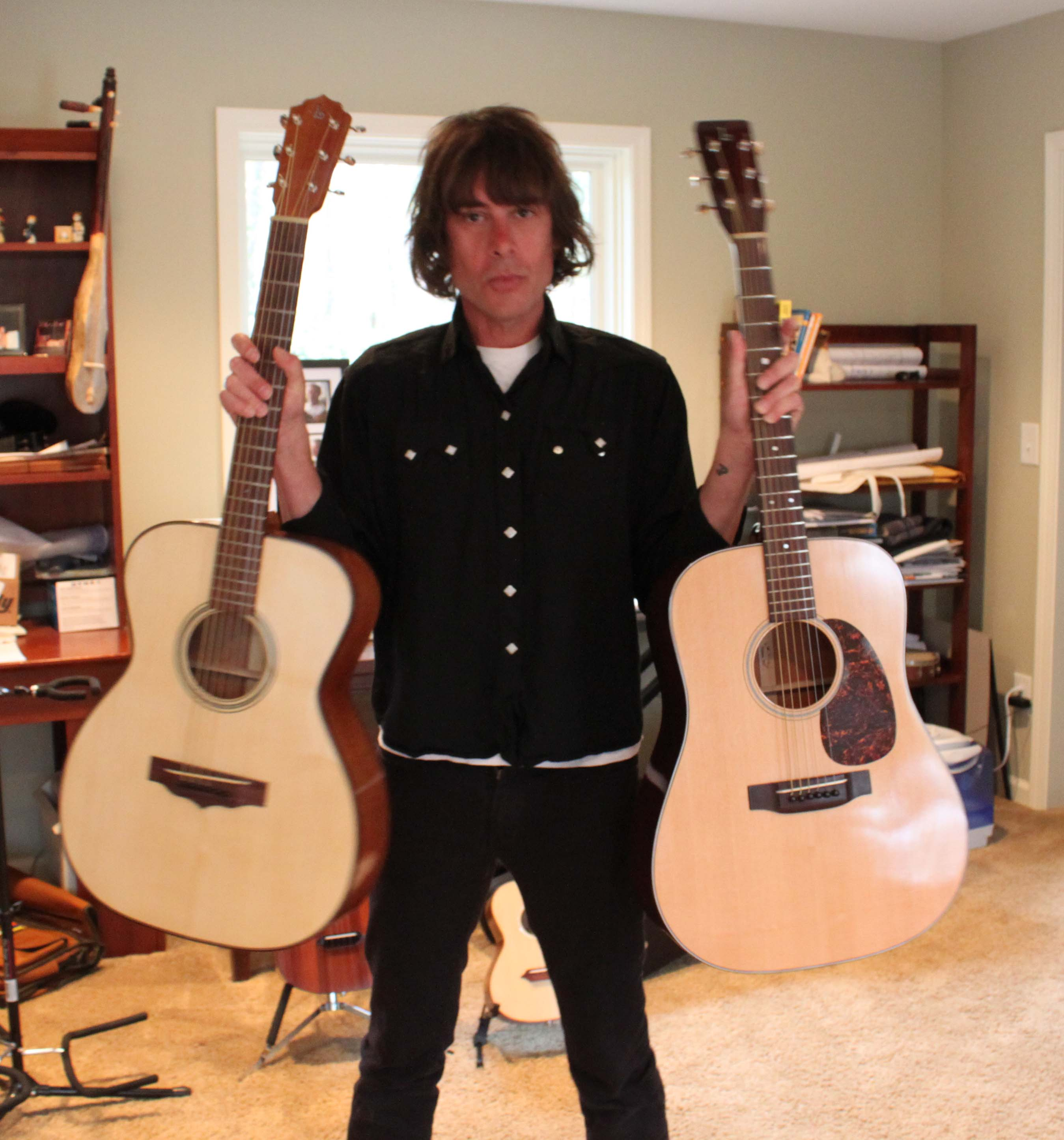 Jody Porter Acoustic Guitars in Hand, Lichty Guitars