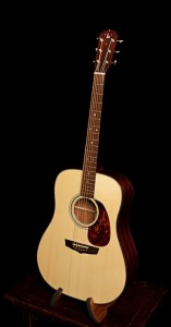 African Mahogany Dreadnought Guitar