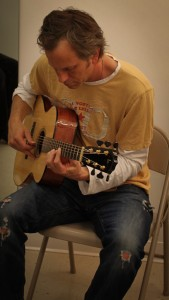 Doug Lancio on a Lichty Guitar