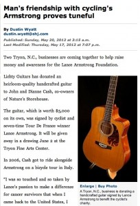 Spartanburg Herald Article
