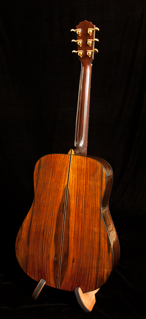 Handcrafted Brazilian Rosewood Dreadnought Guitar