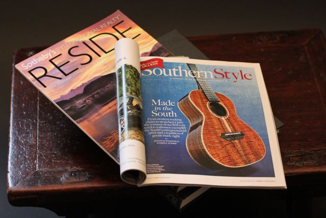 Garden and Gun magazine feature on the Made in the South Awards
