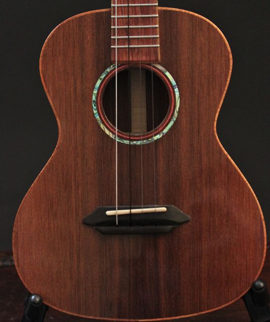 Handcrafted Sinker Redwood Tenor Ukulele, Lichty Guitars