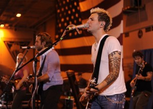 Gloriana Entertains our Troops on their latest Tour - image courtesy of Gloriana.com