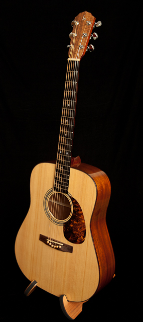 Handcrafted Honduran Mahogany Dreadnought Guitar