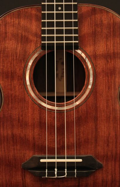 Brazilian Rosewood Tenor Ukulele with Sinker Redwood top, Lichty Guitars