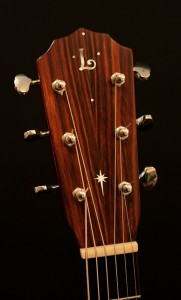 Mike Gossin Custom Acoustic Guitar, Lichty Guitars