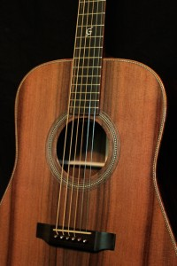 Tom Gossin Custom Acoustic Guitar, Lichty Guitars
