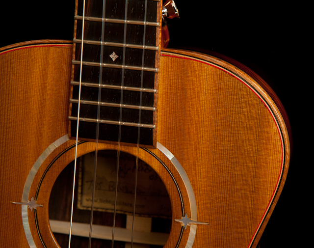 Custom Ukulele - Brazilian Rosewood Low G, Lichty Guitars