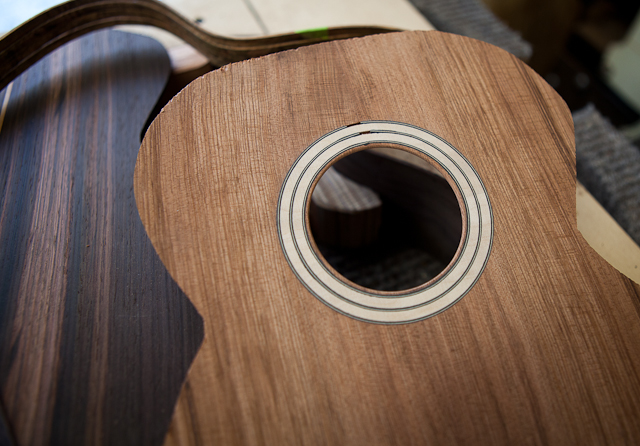 Custom Brazilian Rosewood Tenor Ukulele T16-construction