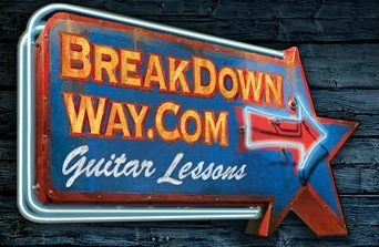 BreakDown Way Online Guitar Lessons