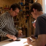 Aaron Dyer Builds His First Guitar – Lichty Guitar Building Workshop