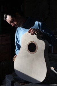 Custom Guitar Builder, Jay Lichty