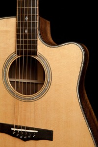 Handmade Acoustic Guitar for sale, g34, Claro Walnut Dreadnought Guitar