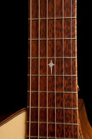 Snakewood fretboard, The Alchemist
