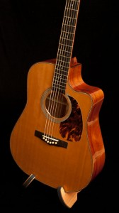 Handmade Acoustic Guitar for sale, Hormigo Cutaway Dreadnought Guitar