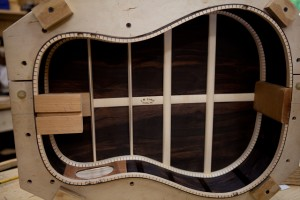 Brazilian Rosewood Custom Guitar construction, G42