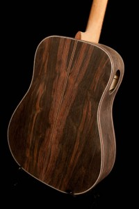 Custom Brazilian Rosewood Guitar - construction