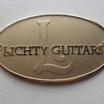 Lichty Guitar label