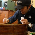 Luthier Shop, Clark Hipolito at Lichty Guitars