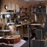 Custom Acoustic Guitar Maker shop