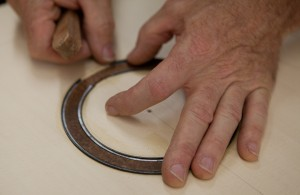 Acoustic Guitar Rosette, construction images