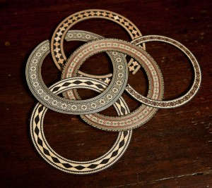 Crossover and Parlor Acoustic Guitar Rosettes