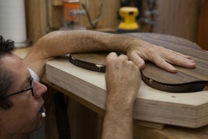 Cocobolo Guitar construction
