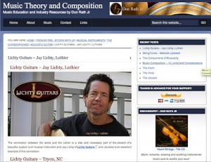 Music Theory and Composition Lichty Guitars Featu