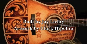 Guitar Artwork Slideshow, Lichty Guitars