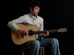 Chris Padgett in session at Lichty Guitars