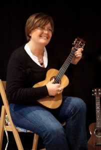 Lichty Cocobolo Tenor Ukulele owner Mary Hickman