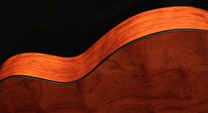 Custom Guitar, Bubinga