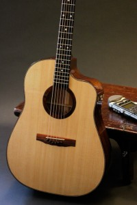 Custom Guitar, Spanish Cedar Cutaway