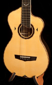 Modified Parlor Guitar, Ziricote Bard Guitar, G41-2