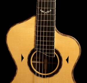 Ziricote Bard Guitar,