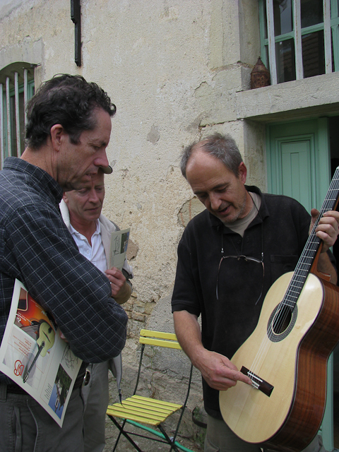French Luthier Dominique Bouges