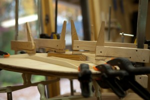 Construction of a Brazilian Rosewood Guitar,