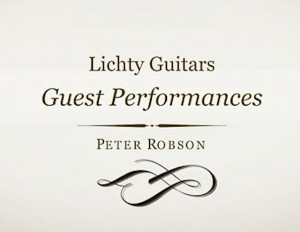 Lichty Guest Performances, Peter Robson