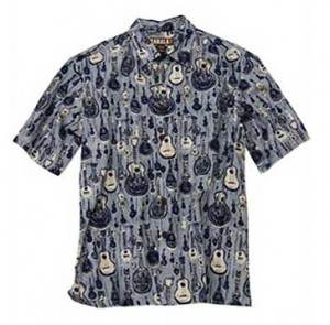 Mele Hawaiian Ukulele Shirt
