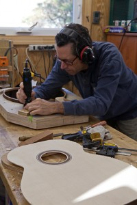 Brazilian Rosewood Guitar Construction