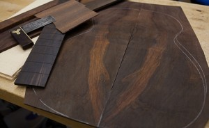 Brazilian Rosewood OM Guitar Construction