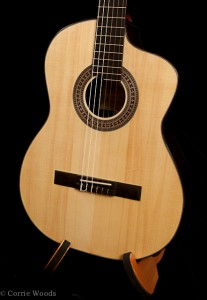 Crossover Guitar, Indian Rosewood