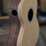 Granadillo Baritone Ukulele construction