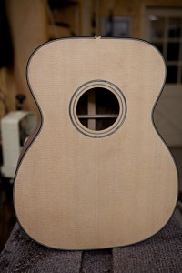 Acoustic Guitar Building Workshop Day Five