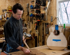Custom Guitar Builder Jay Lichty