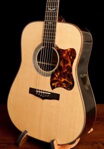 Custom acoustic guitar, a Brazilian Rosewood Dreadnought