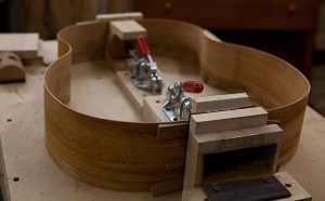 Handmade Acoustic Guitar Construction