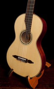 Lichty Dream Guitar, birdseye maple